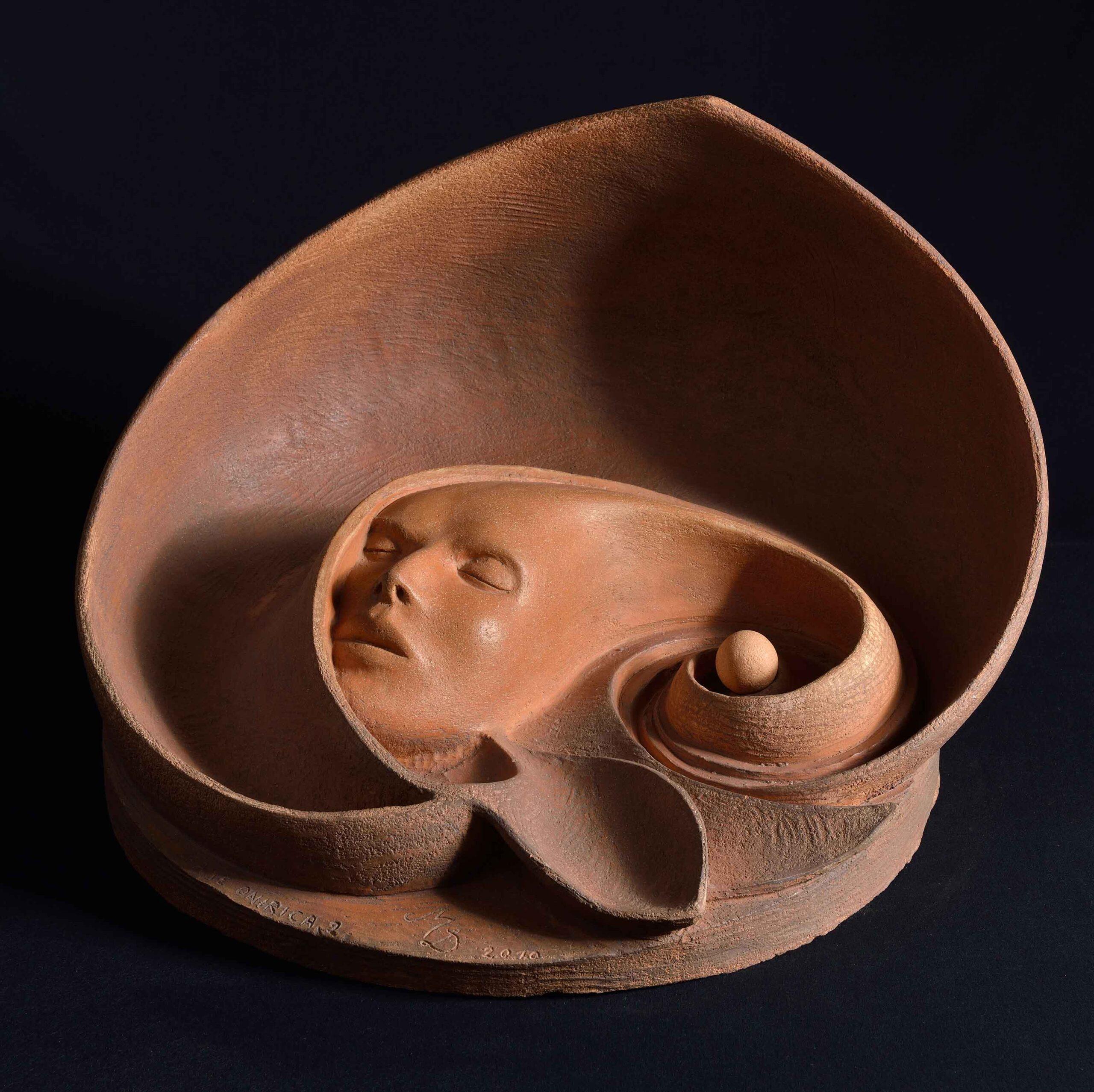 Fase-onirica-II_2010_terracotta-patinata_cm-34x46x40